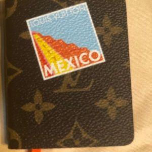 Louis Vuitton mini Jules mono notebook Mexico